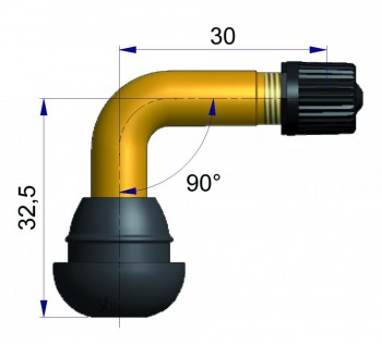 Вентиль TYPE Scooter   41558-68